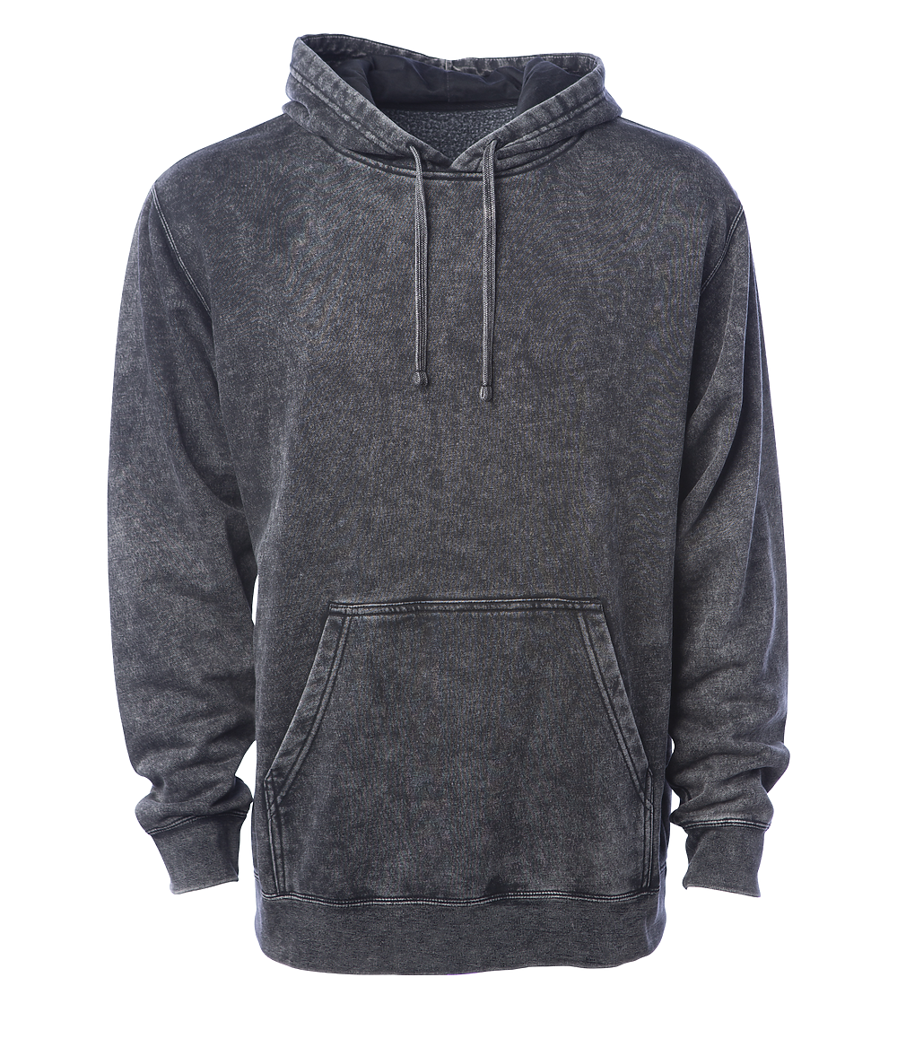 Independent Trading Co. - PRM4500MW - Unisex Midweight Mineral Wash Hooded Pullover