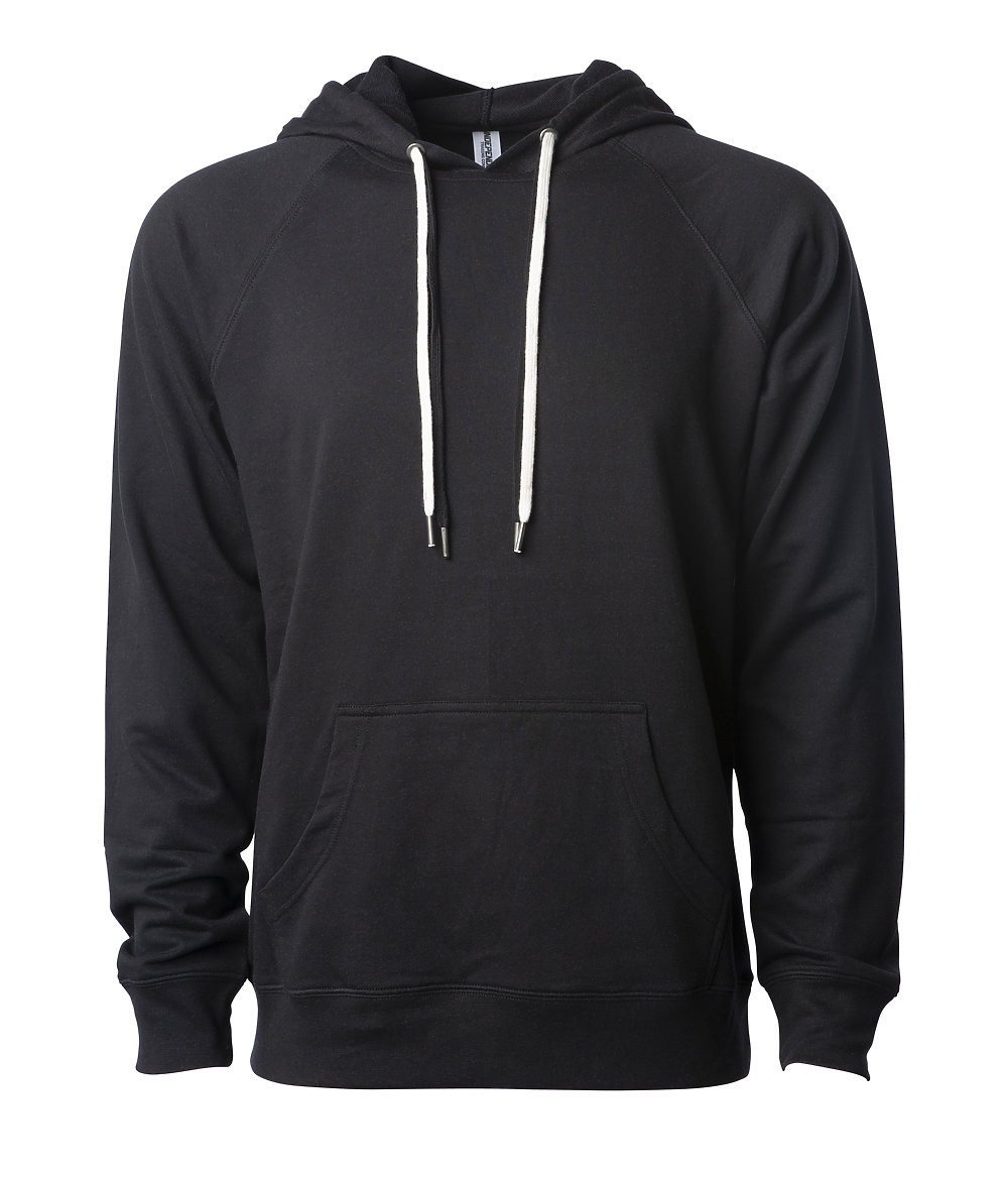 Independent Trading Co. SS1000 - Unisex Lightweight Loopback Terry Hooded Pullover