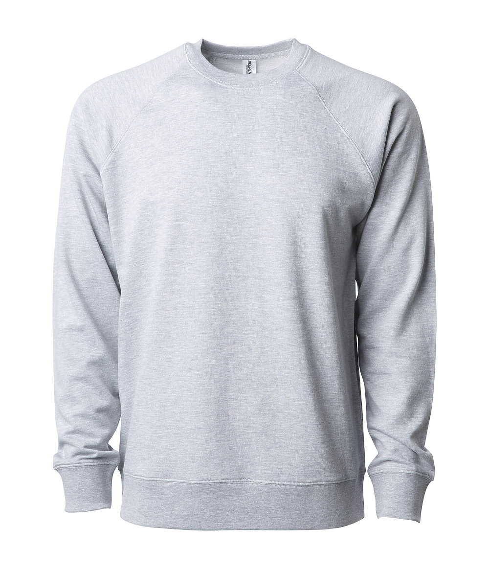 Independent Trading Co. SS1000C - Unisex Lightweight Loopback Crew