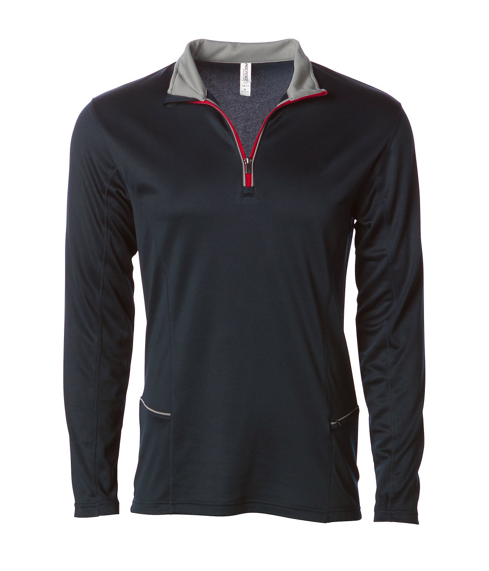 Independent Trading Co. EXP14PQZ - Lightweight Poly-Tech 1/4 Zip Cadet Pullvoer