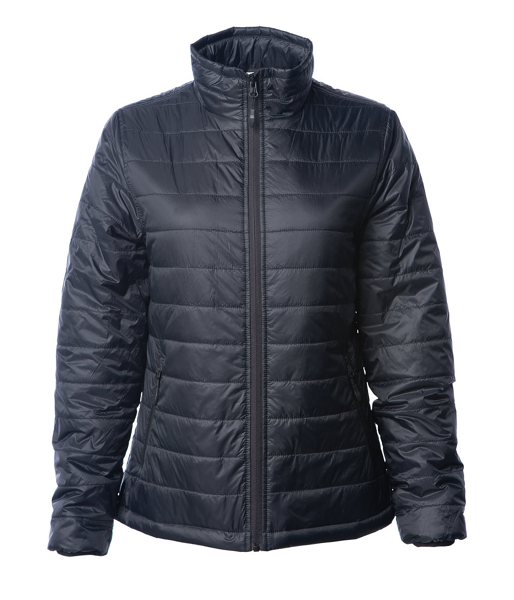 Independent Trading Co. EXP200PFZ - Women's Hyper-Loft Puffy Jacket