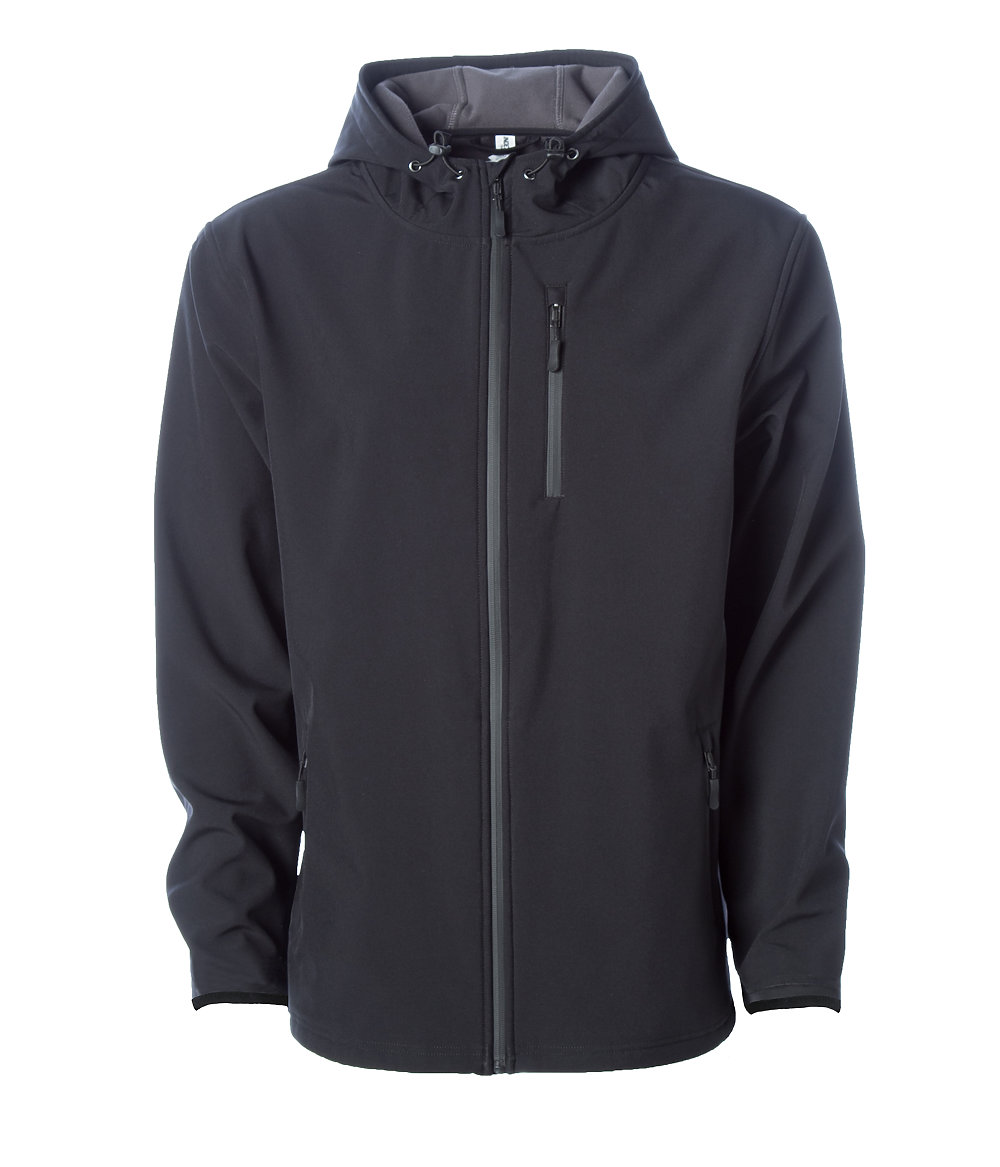 Independent Trading Co. EXP35SSZ - Ploy-Tech Water Resistant Soft Shell Jacket