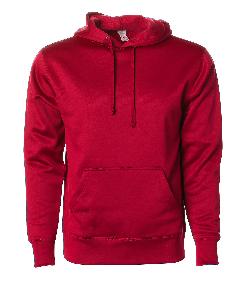 Independent Trading Co. EXP444PP - Poly-Tech Pullover Hooded Sweatshirt