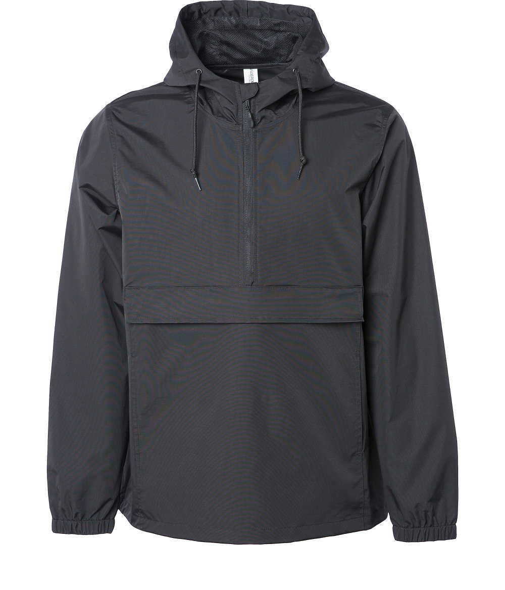 Independent Trading Co. EXP94NAW - Water Resistant Windbreaker Anorak Jacket