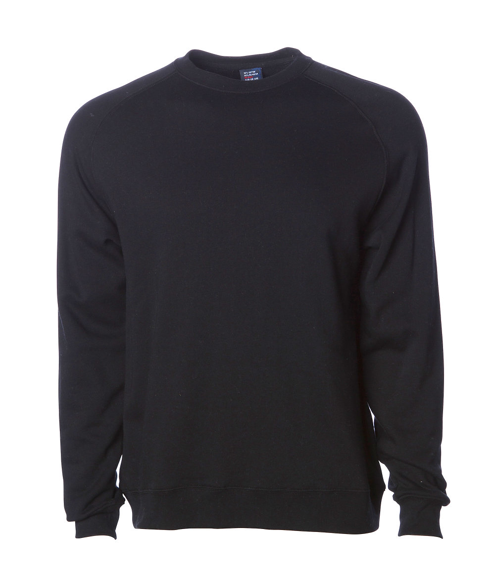 Independent Trading Co. IND30RC - Fitted Raglan Pullover ...