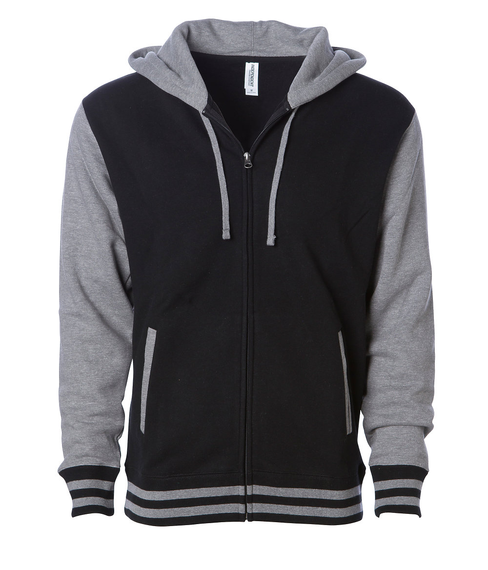 Independent Trading Co. IND45UVZ - Unisex Vasirty Zip Hood