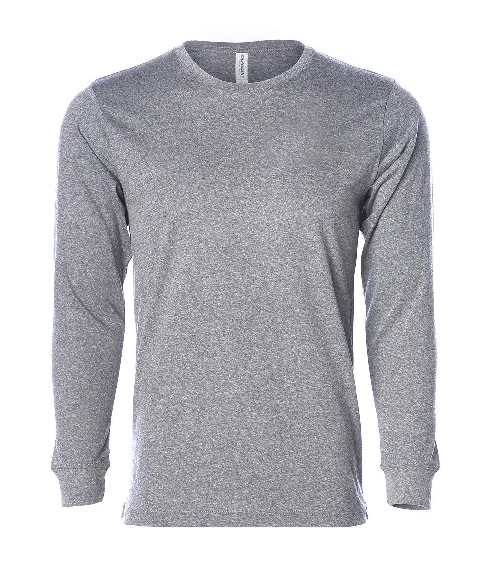 Independent Trading Co. PRM12LSB - Men's Long Sleeve Special Blend T-Shirt