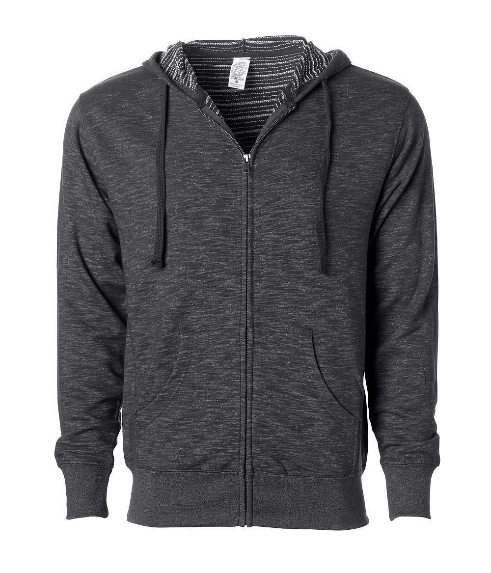 Independent Trading Co. PRM22BZ - Baja Stripe French Terry Zip Hood