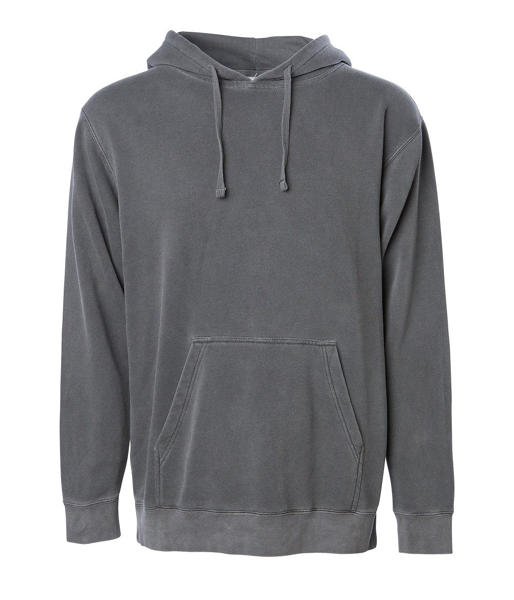 Independent Trading Co. PRM4500 - Unisex Midweight Pigment Dyed Hooded Pullover