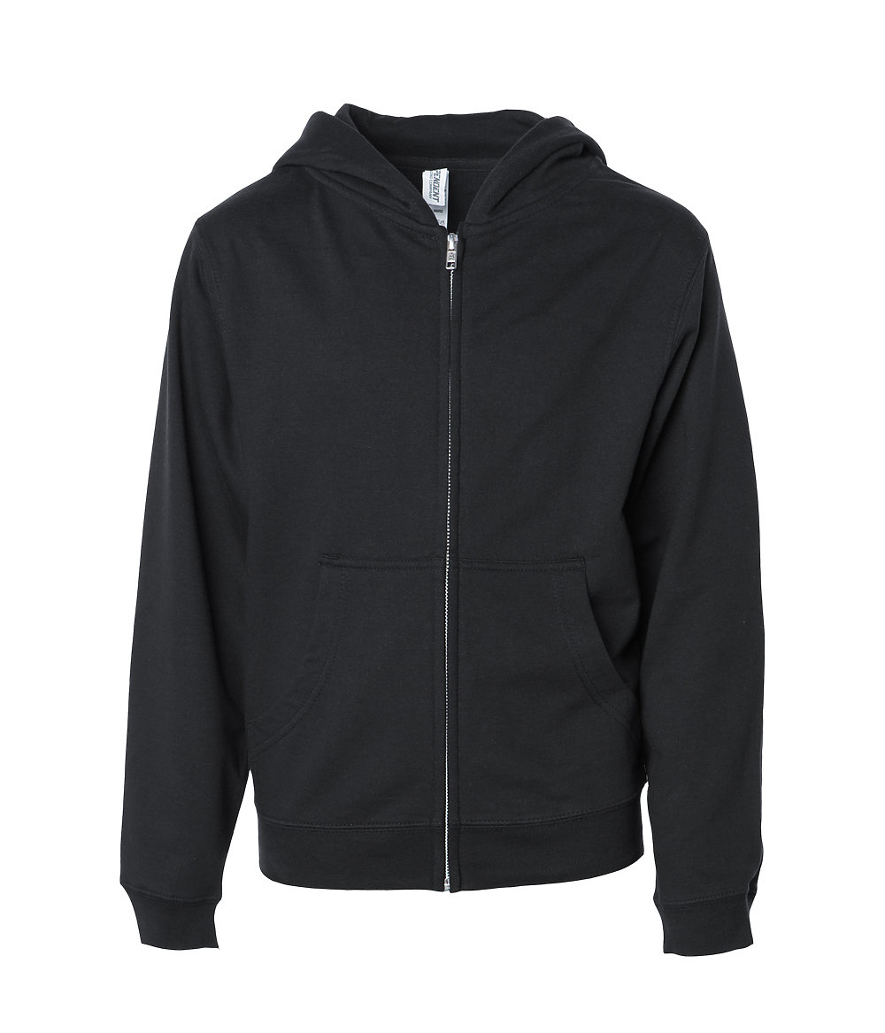 Independent Trading Co. SS4001YZ - Youth Midweight Zip Hooded Sweatshirt