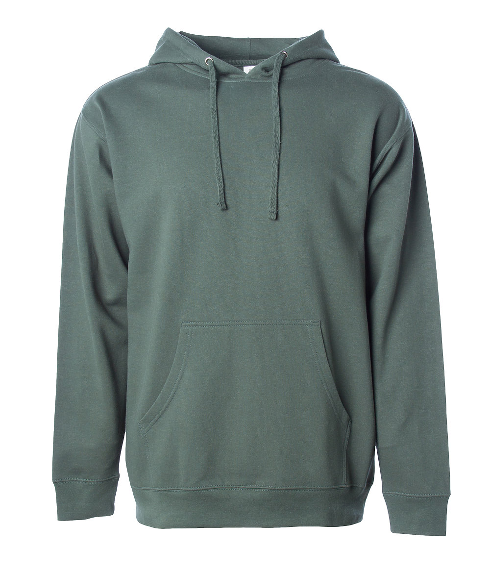 Independent Trading Co. SS4500 - Midweight Hooded Pullover Sweatshirt