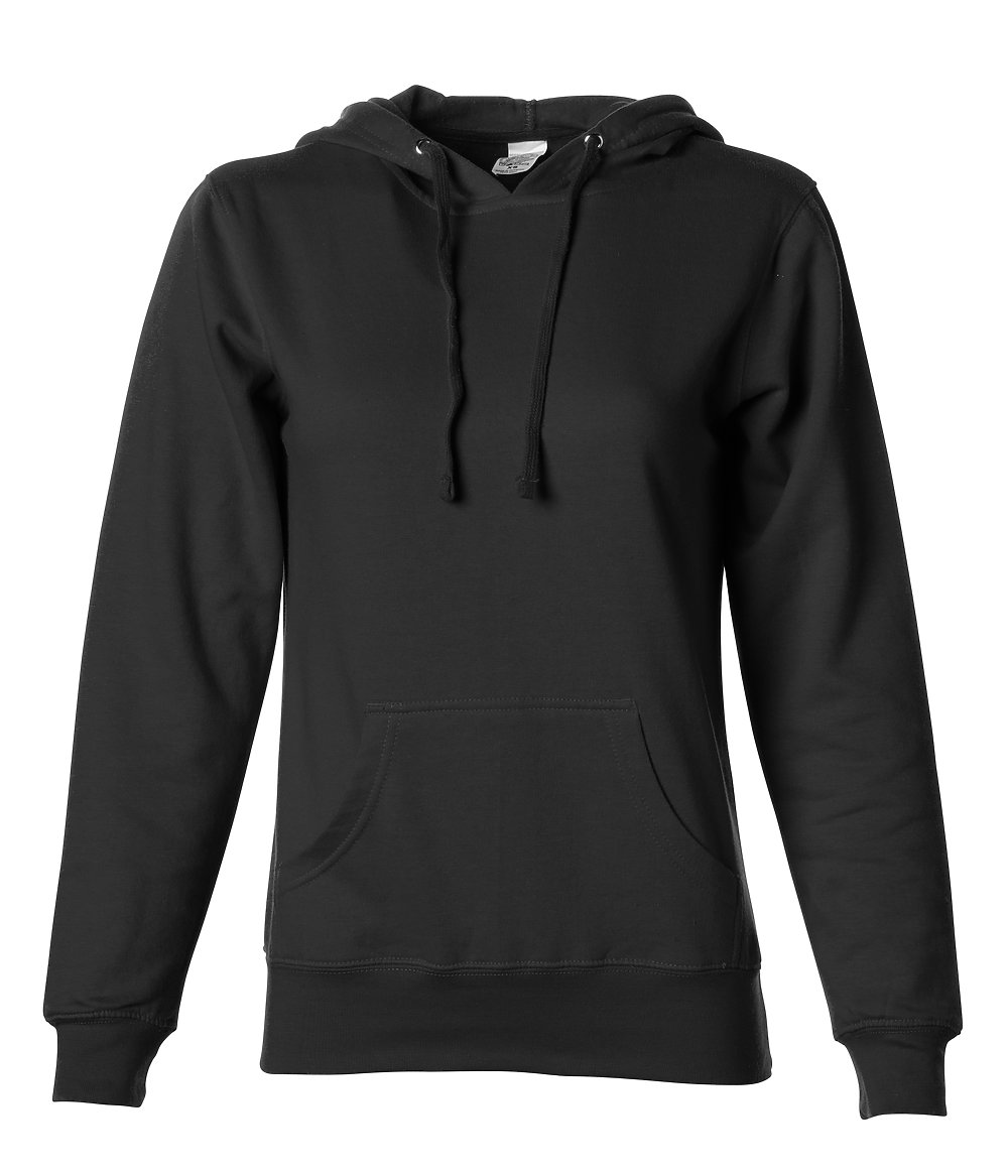 Independent Trading Co. SS650 - Women's Lightweight Pullover Hooded Sweatshirt