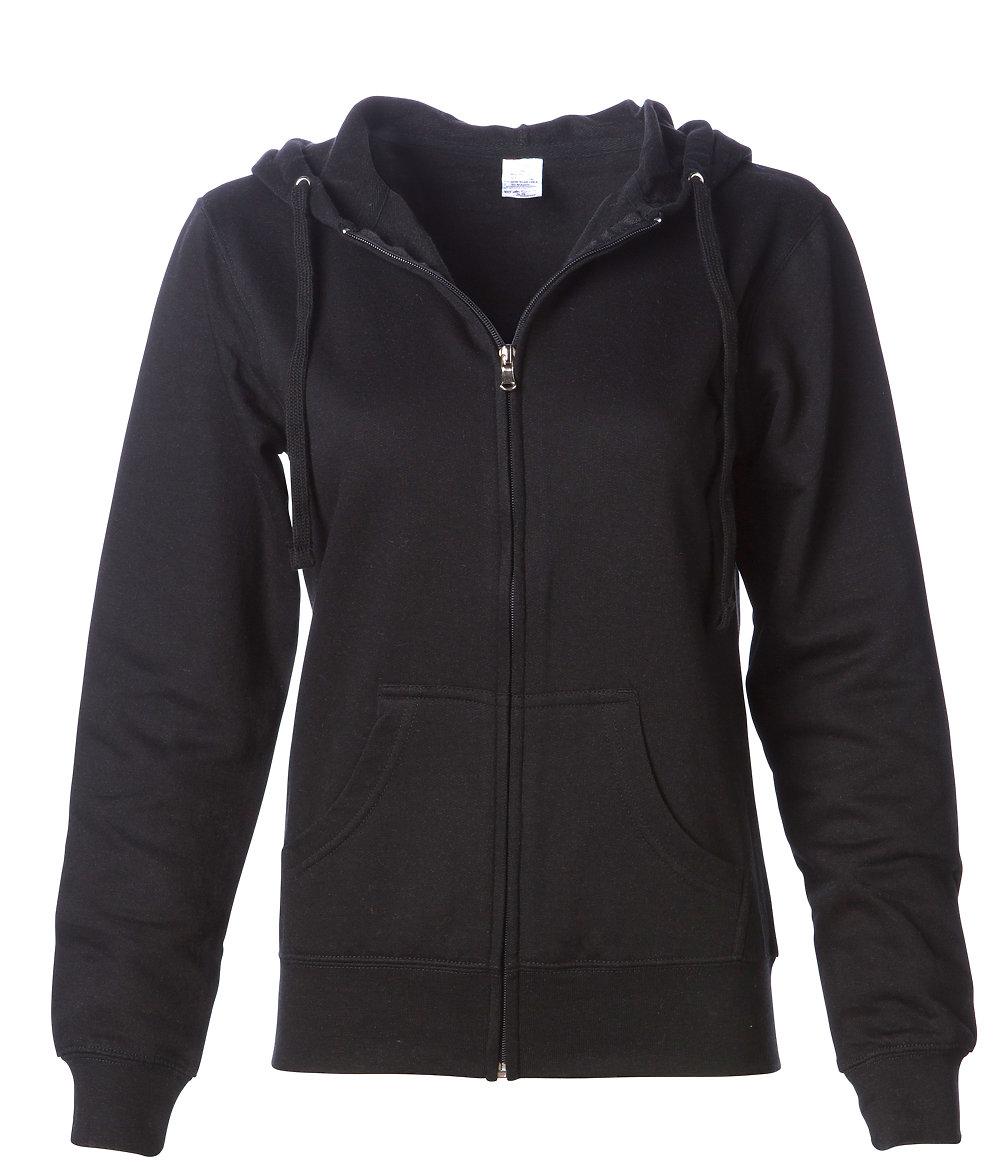 Independent Trading Co. SS650Z - Women's Lightweight Zip Hooded Sweatshirt