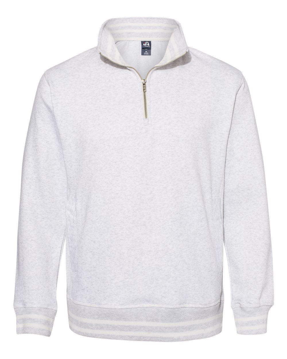 J. America - 8650 - Relay Fleece Quarter-Zip Sweatshirt