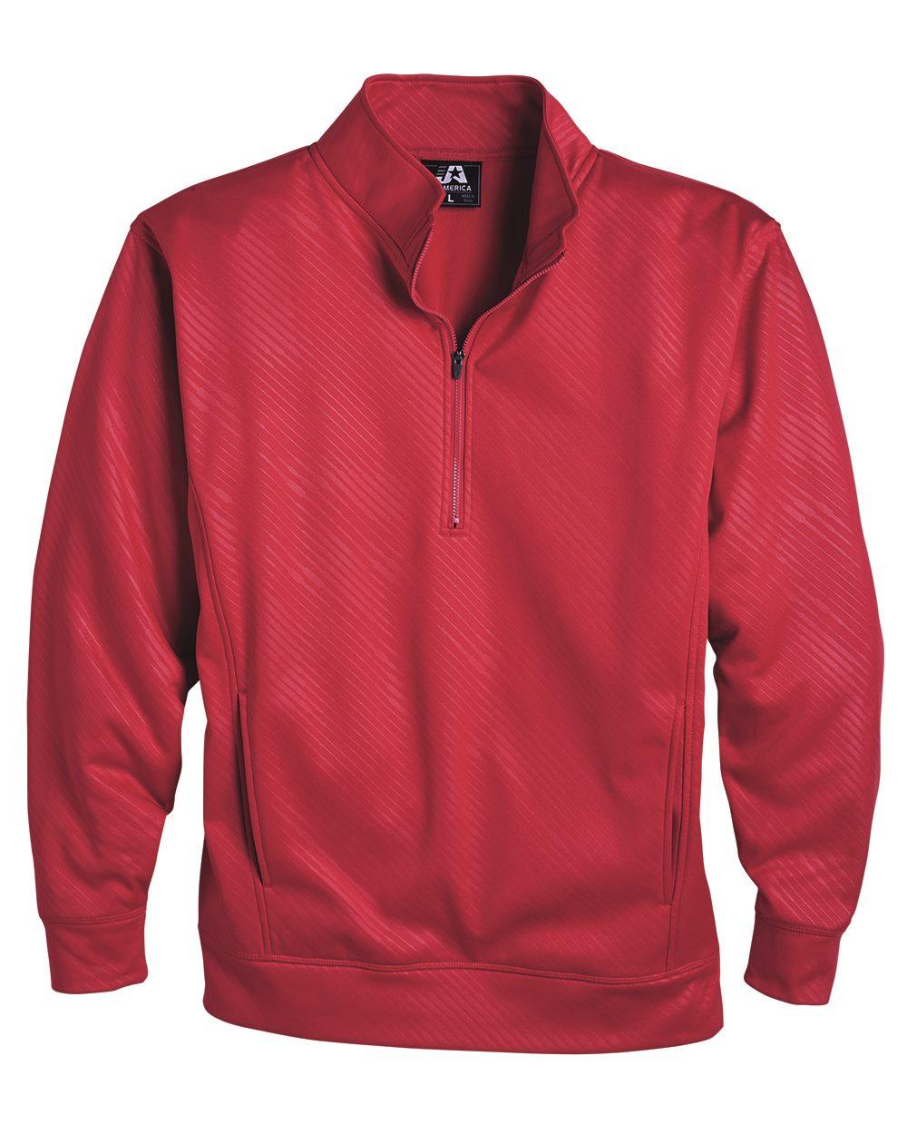 J. America 8669 - Volt Polyester Quarter-Zip Sweatshirt