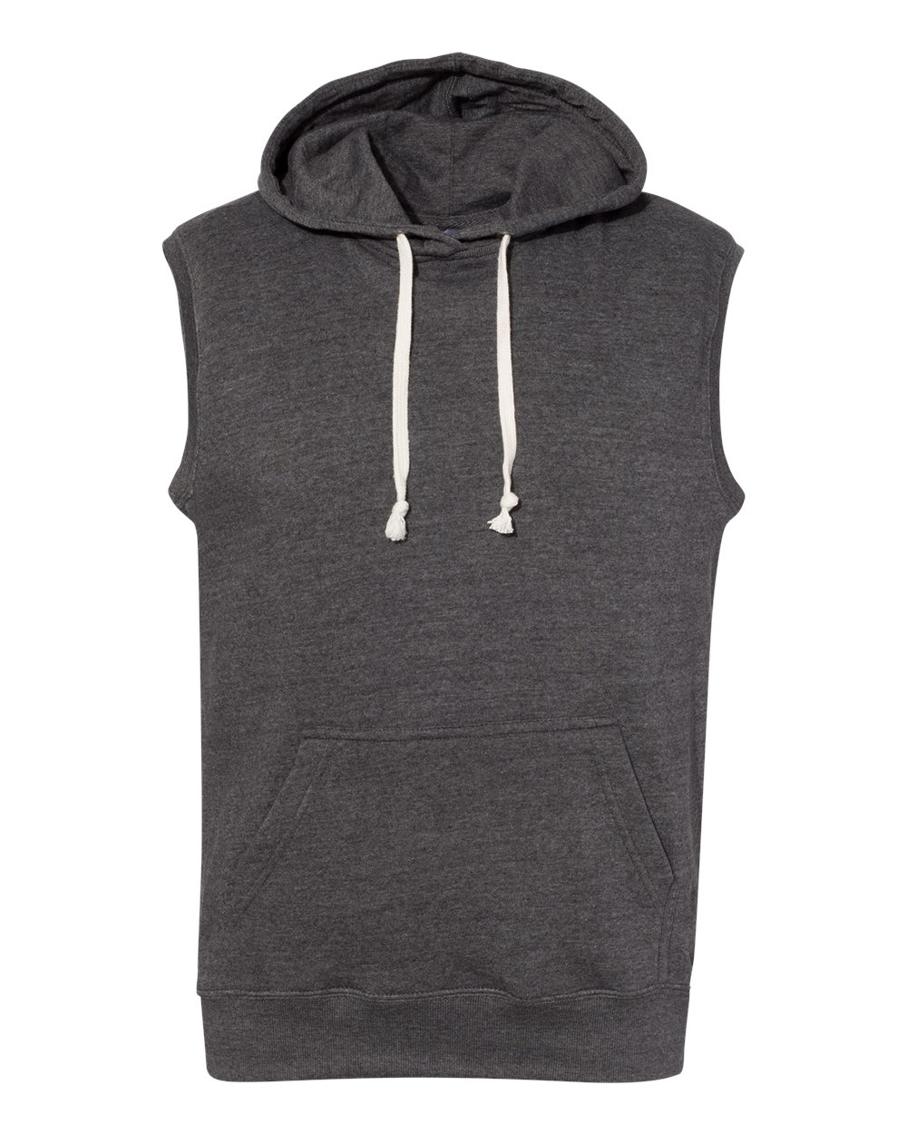 J. America - 8877 - Triblend Sleeveless Hooded Sweatshirt