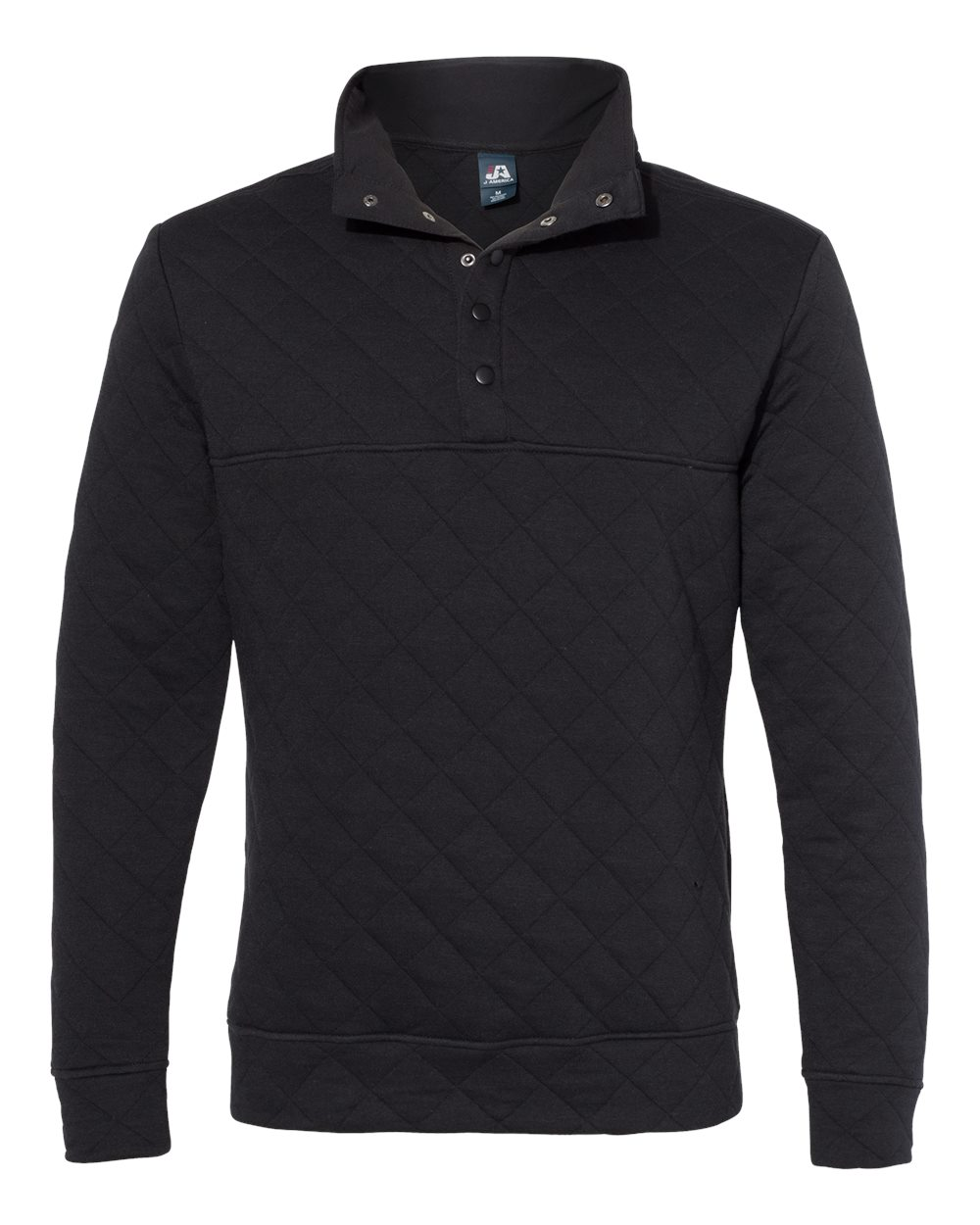 J. America - 8890 - Quilted Snap Pullover