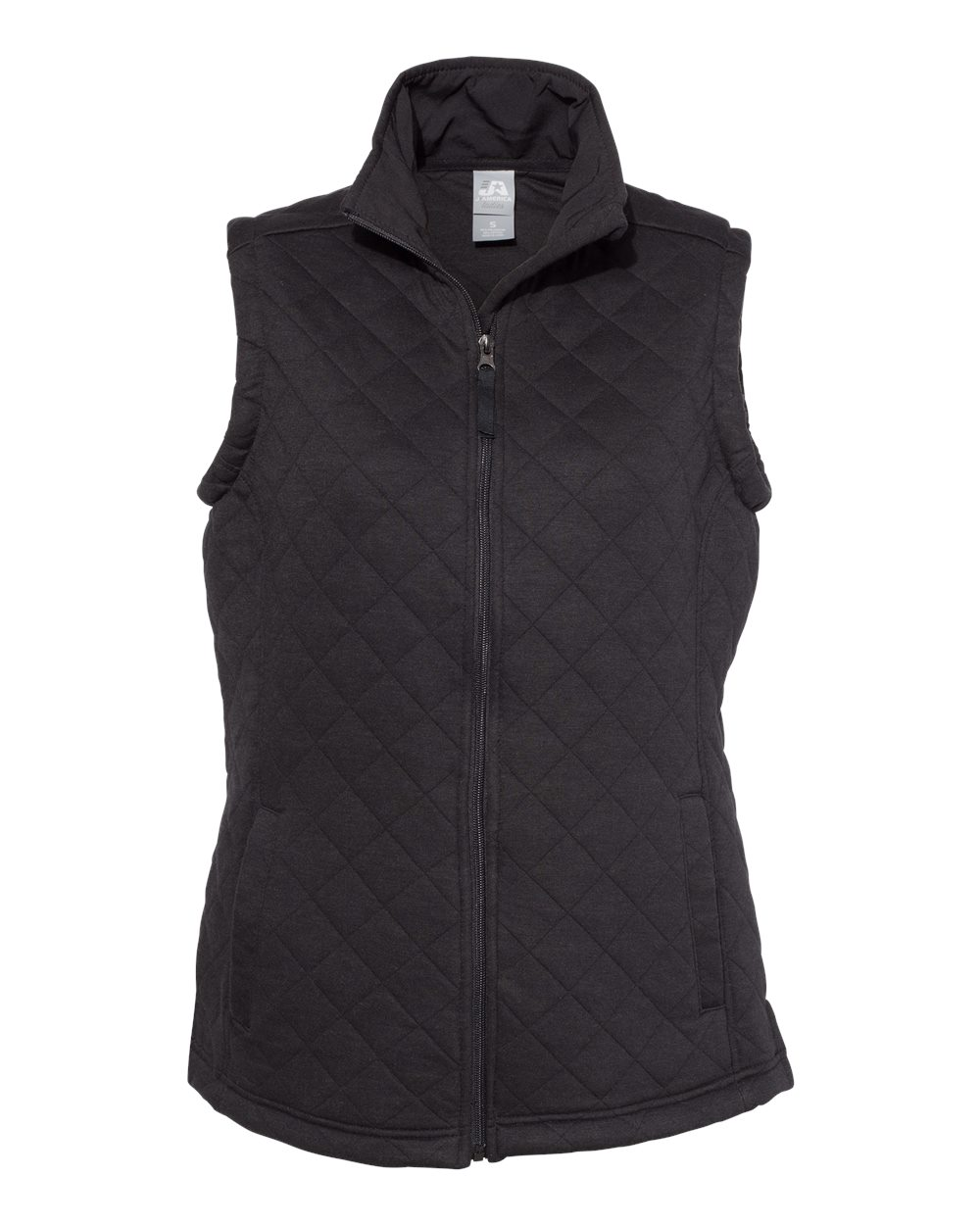 J. America - 8892 - Women's Quilted Full-Zip Vest