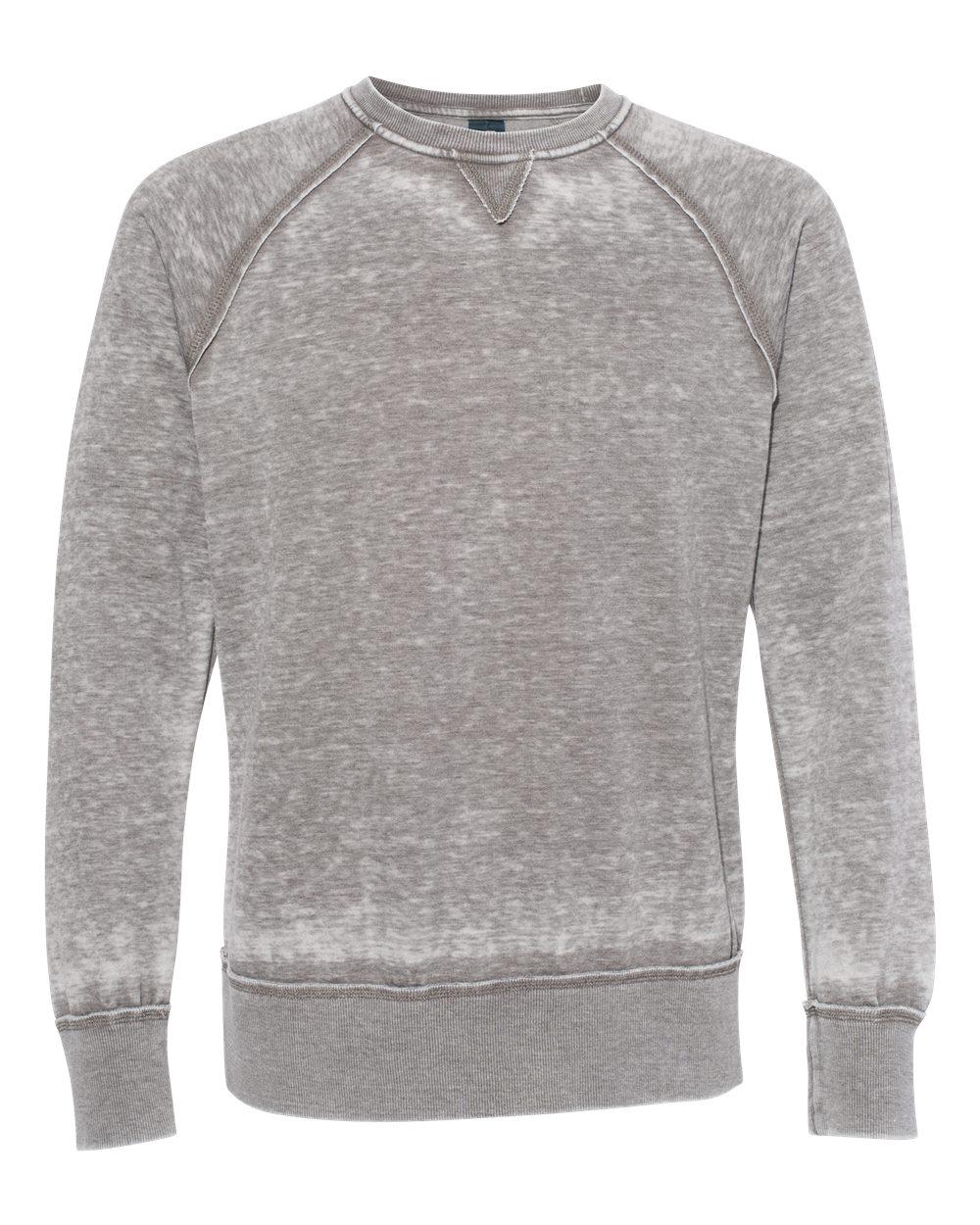 J. America - 8920 - Vintage Zen Fleece Crewneck Sweatshirt