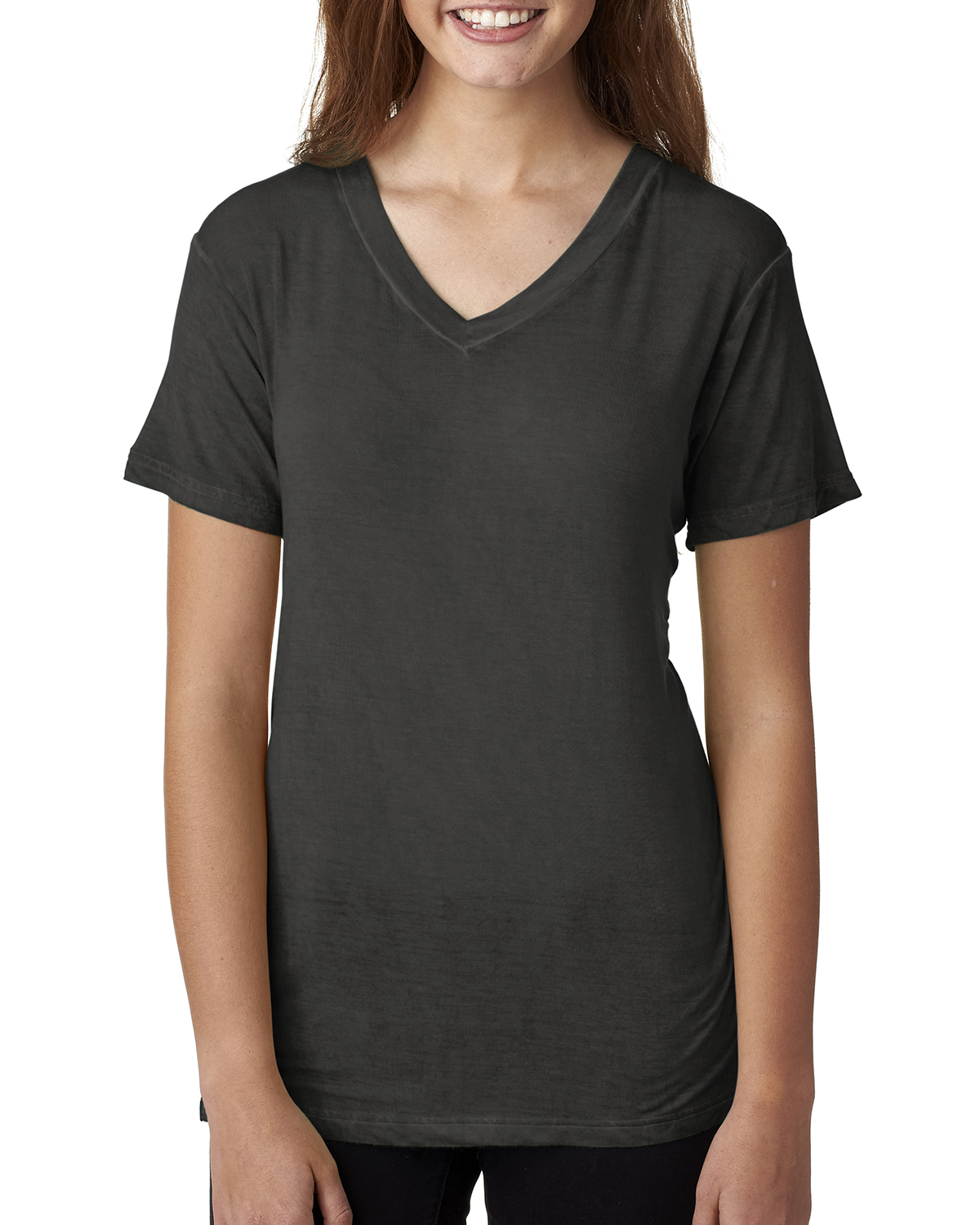 J.America JA8132 - Ladies' Oasis Wash V-Neck Tee