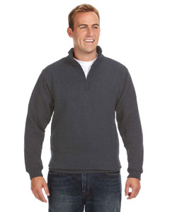 J America JA8634 - Heavyweight Fleece Quarter-Zip