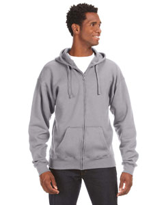 J America JA8821 - Premium Full-Zip Fleece Hood