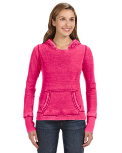 J America JA8912 - Ladies' Zen Pullover Fleece Hood