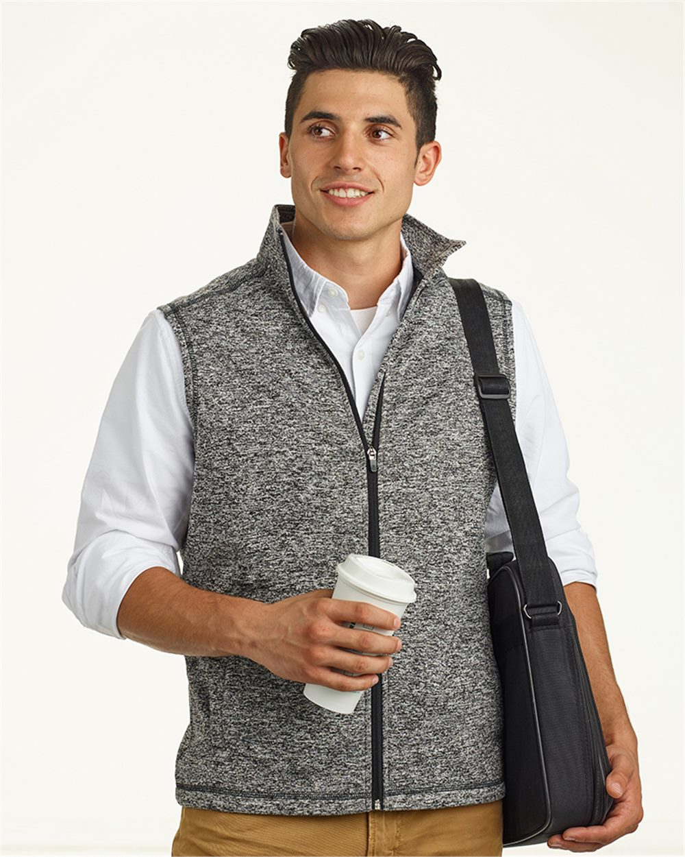 J. America 8631 - Cosmic Fleece Vest