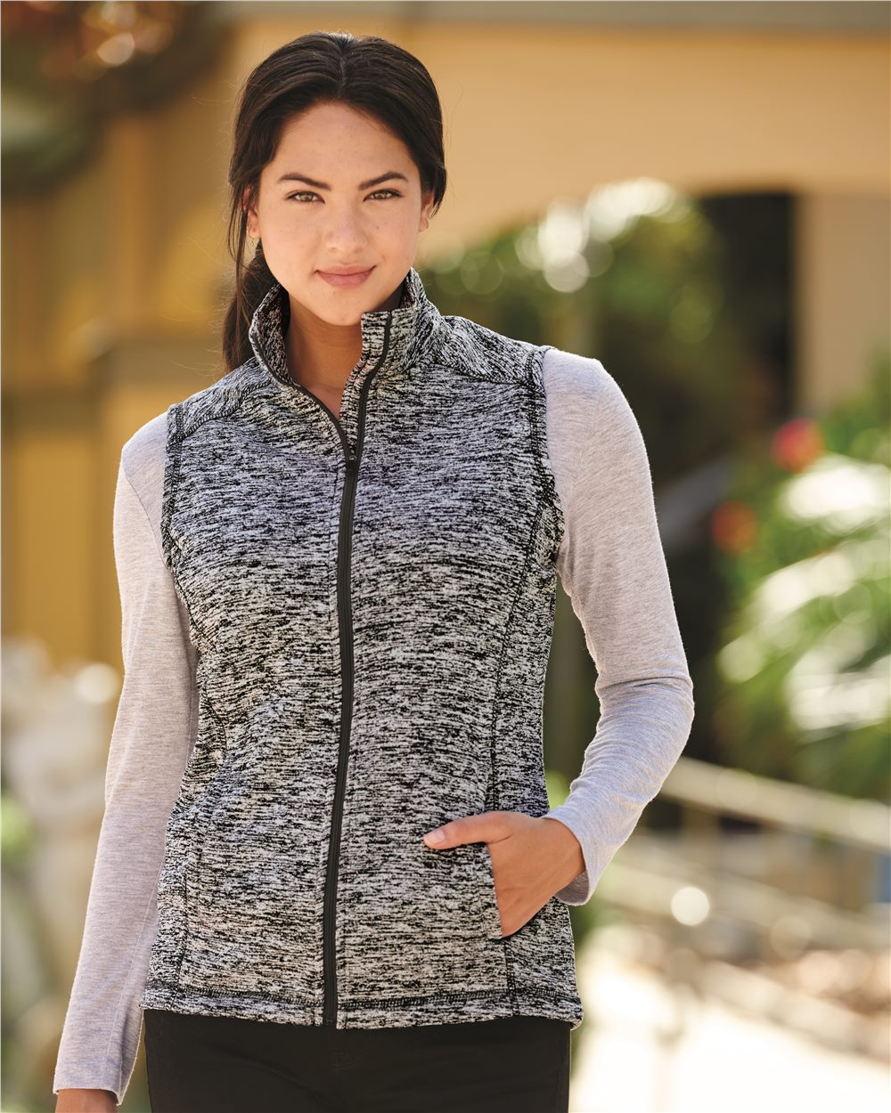 J. America 8625 - Cosmic Fleece Women's Vest