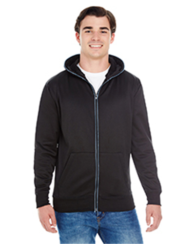 J.America JA8668 - Adult Glow Full-Zip Hood