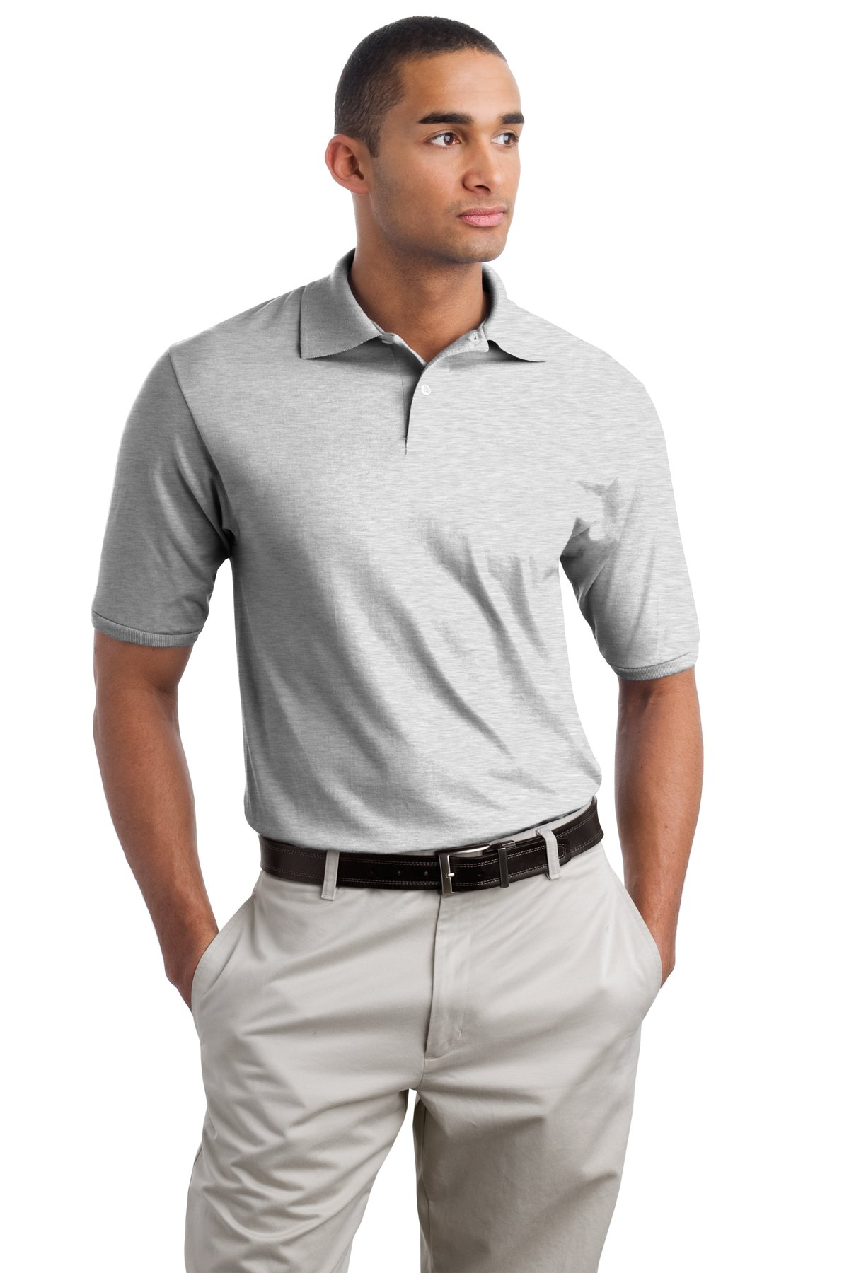 Hanes Stedman Polo Shirts Summer Cook
