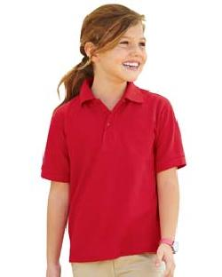 Jerzees 537YR - Youth Easy Care Polo