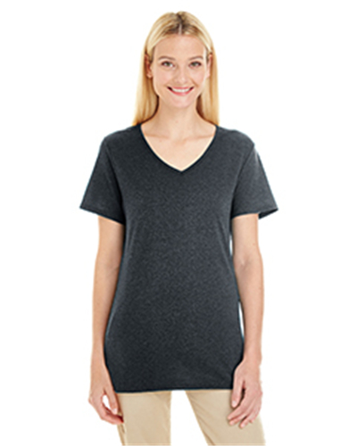 Jerzees 601WVR - Ladies' 4.5 oz. TRI-BLEND V-Neck T-...