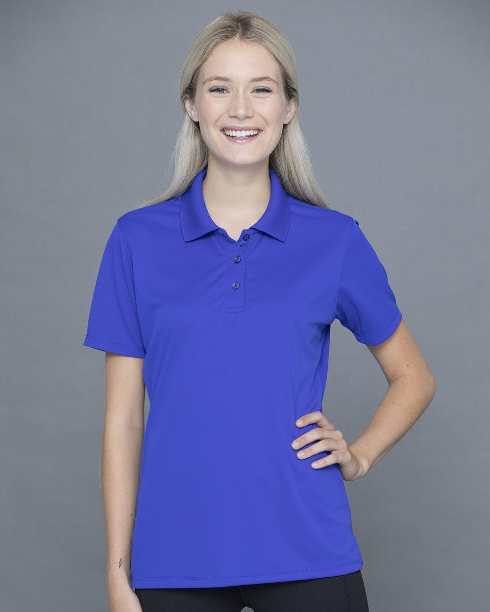 Jerzees 442W - Women's Polyester Mesh Sport Shirt