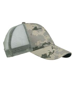 KC Caps 7041 - Digital Camouflage Mesh Back Cap