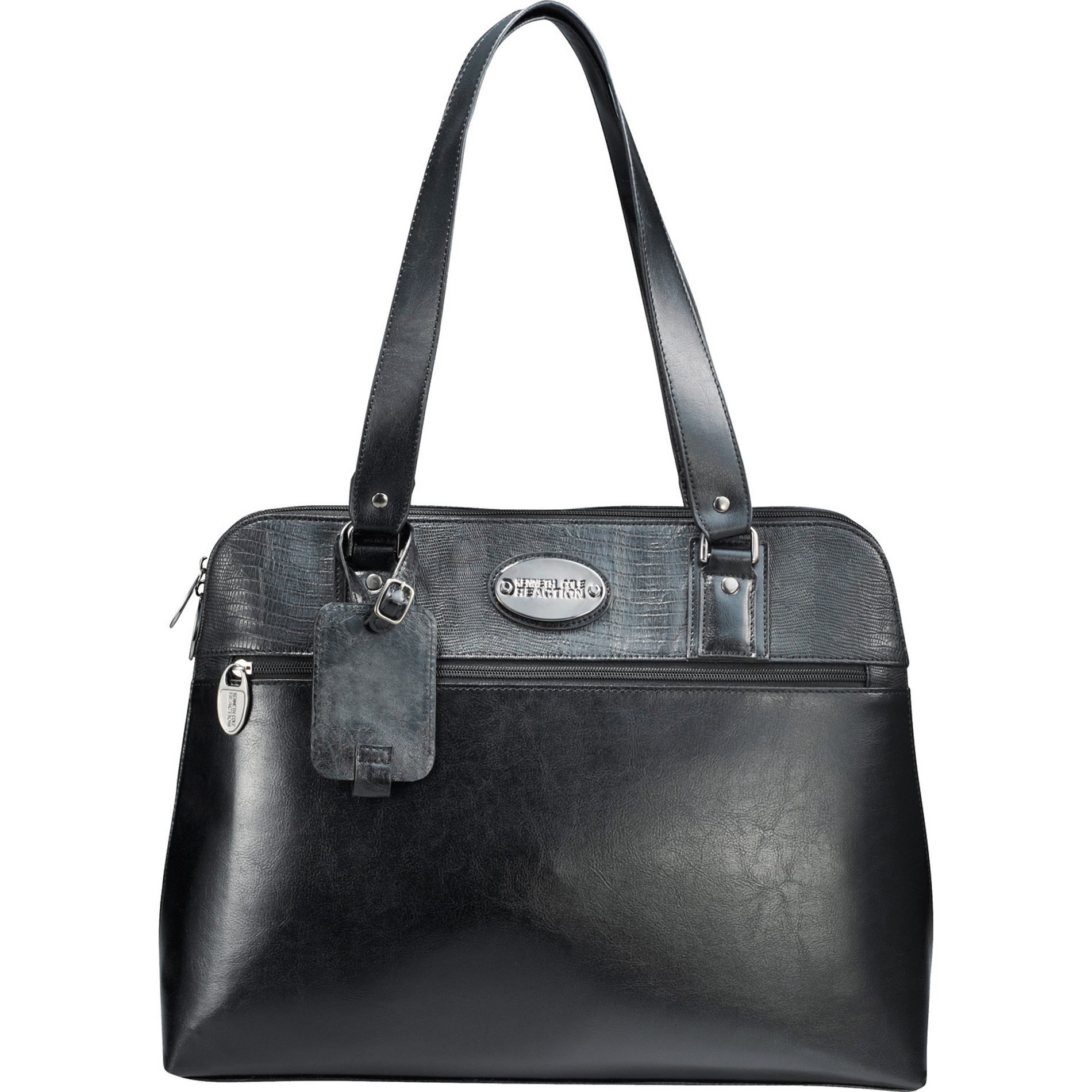 Kenneth Cole 9950-51 - Snake-Trimmed 16 Computer Tote