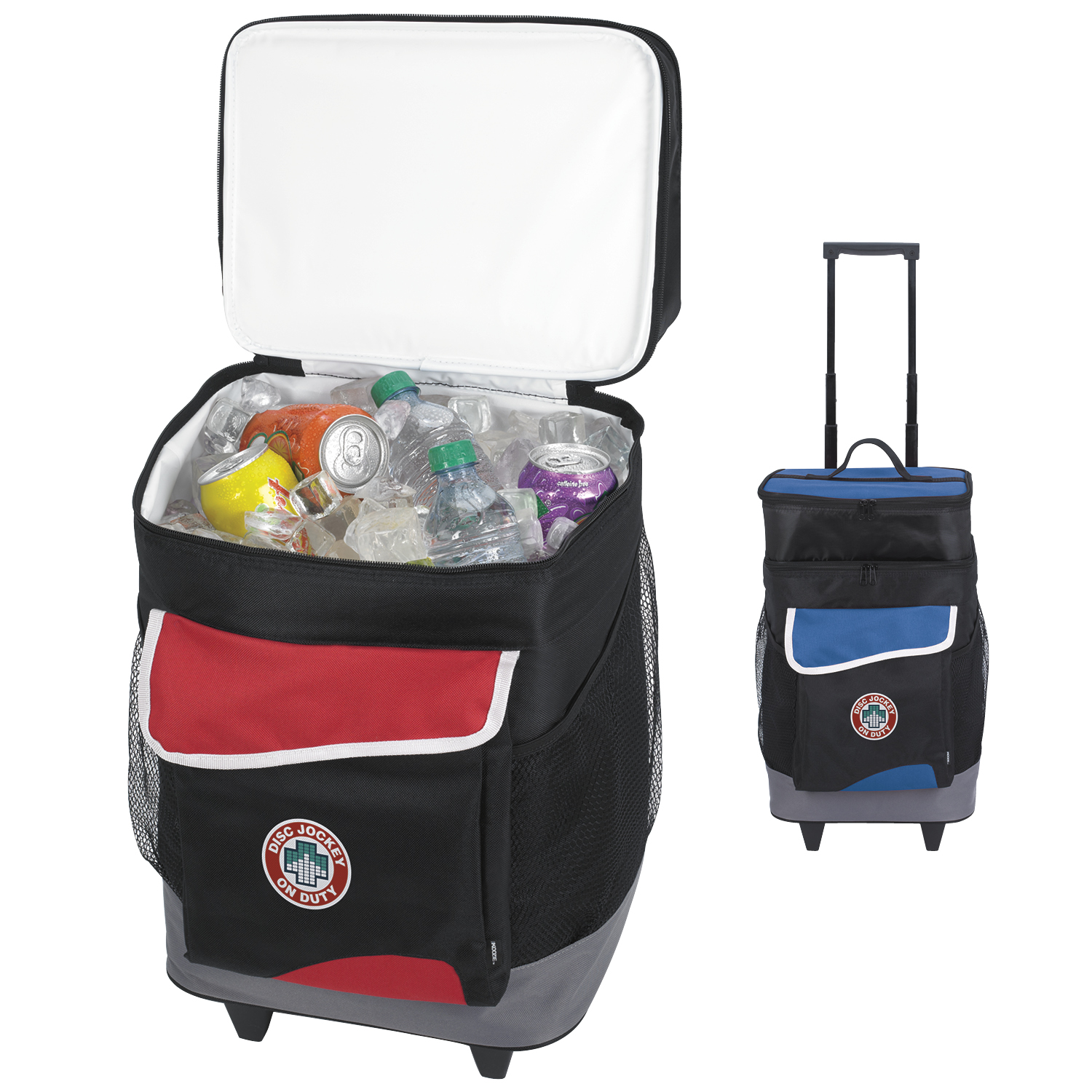 Koozie® 15741 Two-Compartment Rolling Kooler