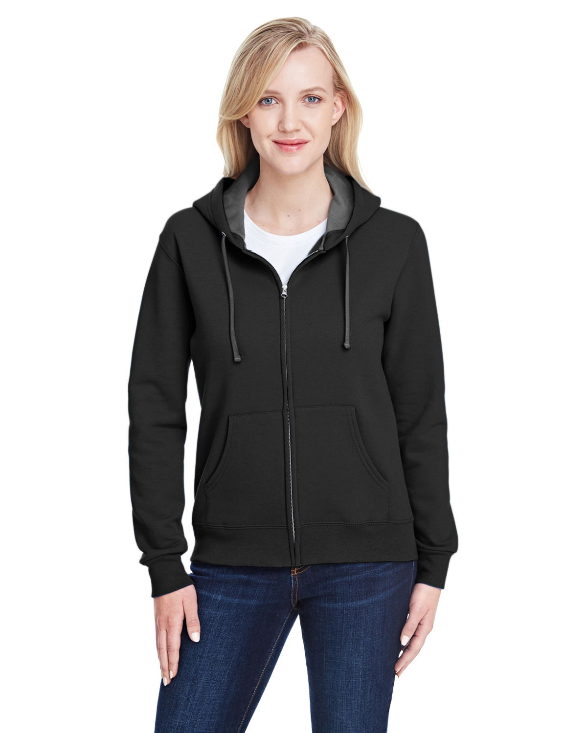 Jockey Ladies Full Zip Hooded Sweater 58080 from $14.71
