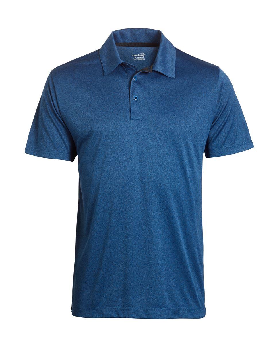 Landway 1145 - Vertex Heathered Knit Shirt