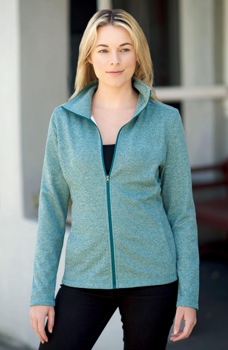 Landway 2700 - Fresco Ladies Melange Knit Jacket