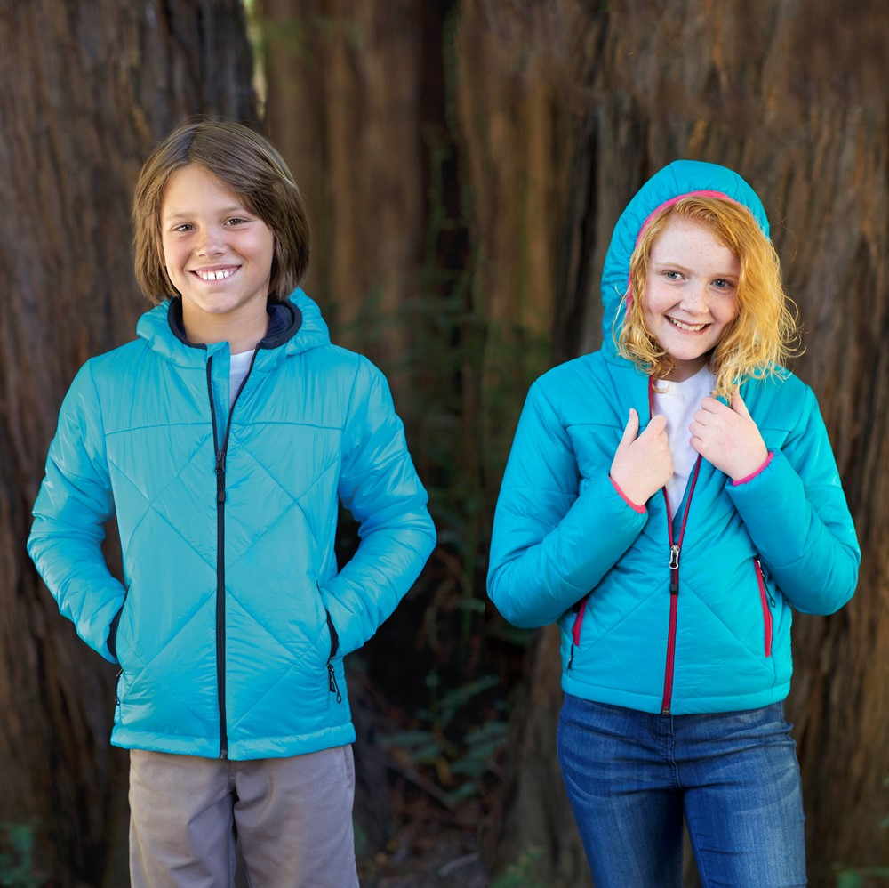 Landway 7618K - Youth Hooded Puffer