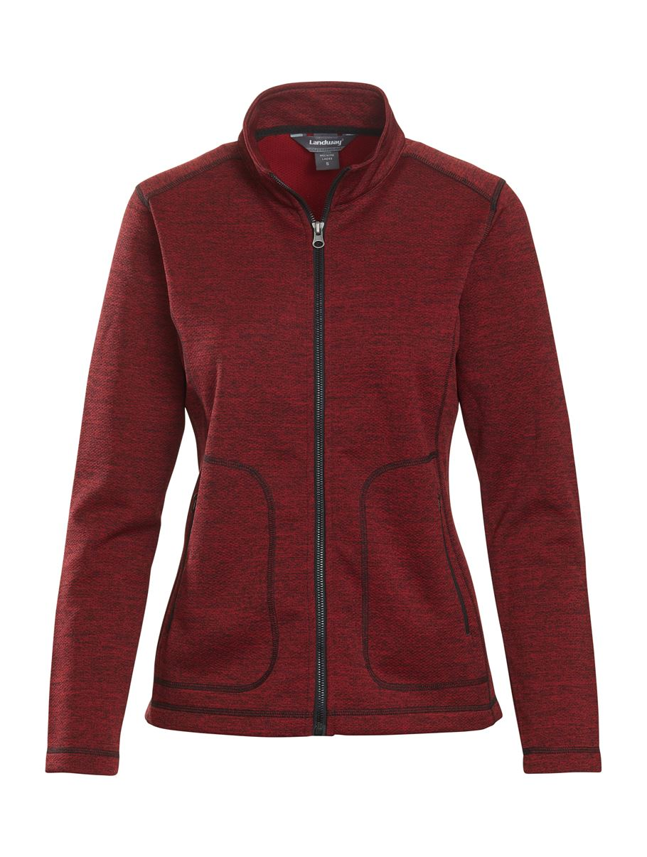 Landway 8917 - Ladies Summit Textured Knit Jacket