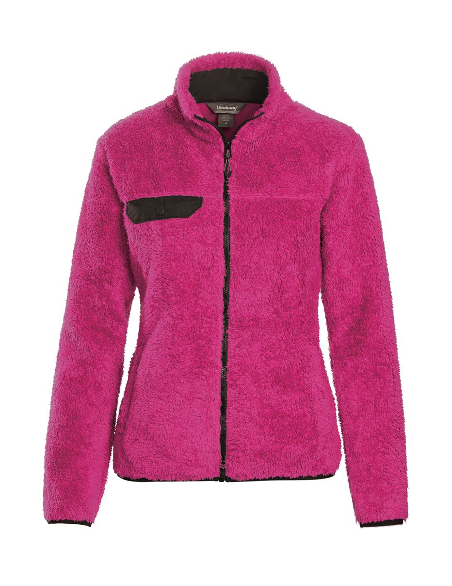 Landway 9872 - Ladies Yeti Sherpa Fleece Jacket