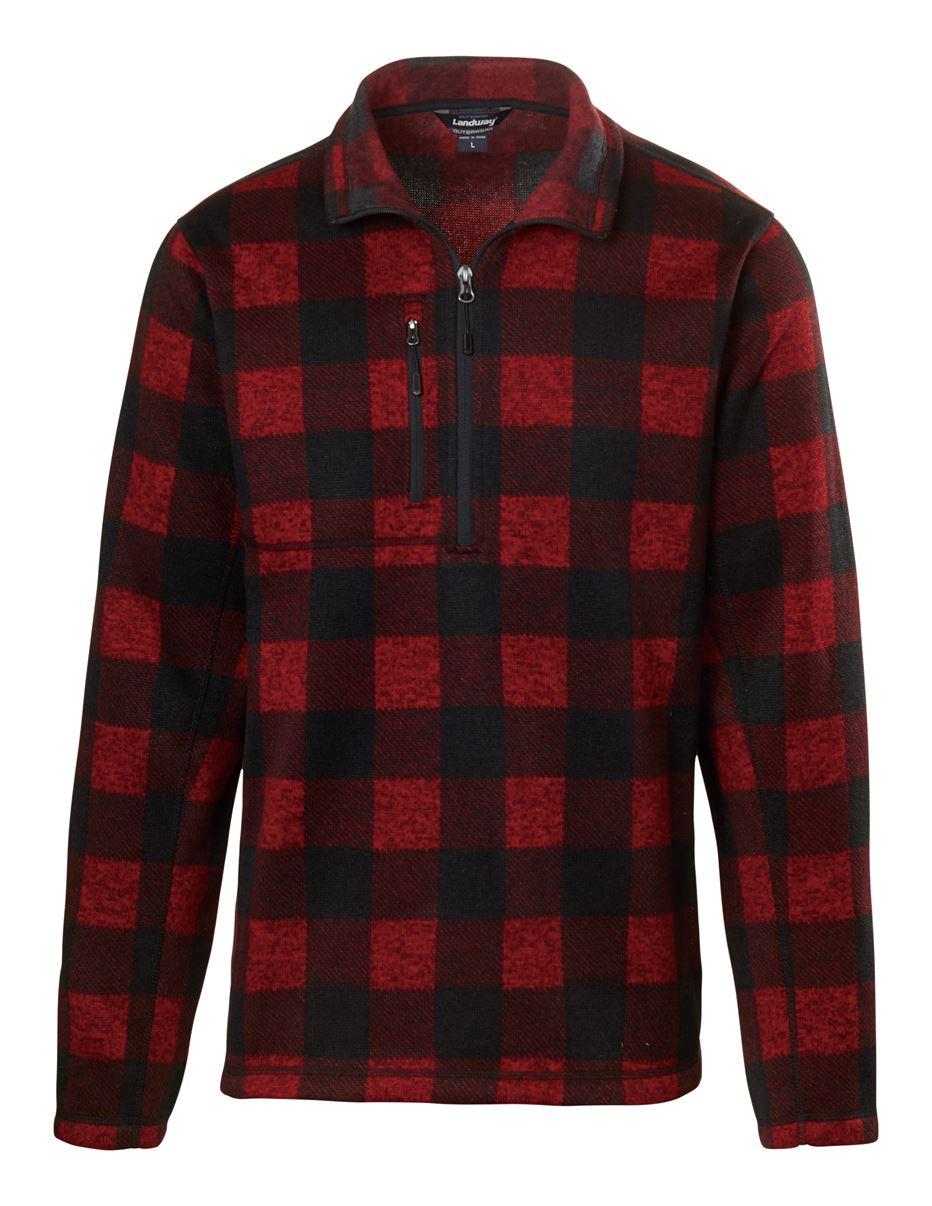 Landway 9893 - Kodiak 1/4-zip Sweater-knit Fleece