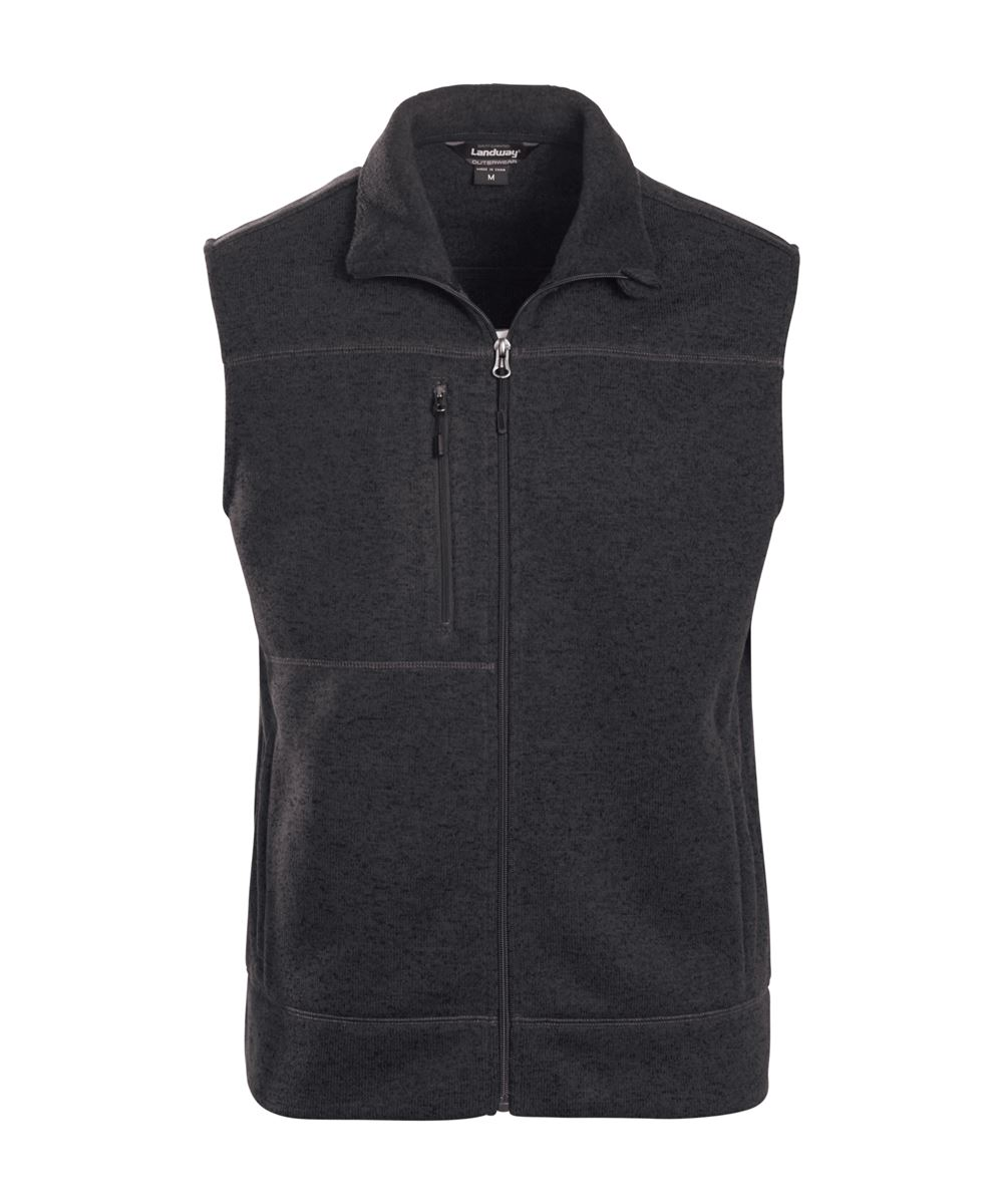 Landway 9895 - Ashton Vest Sweater-knit Fleece