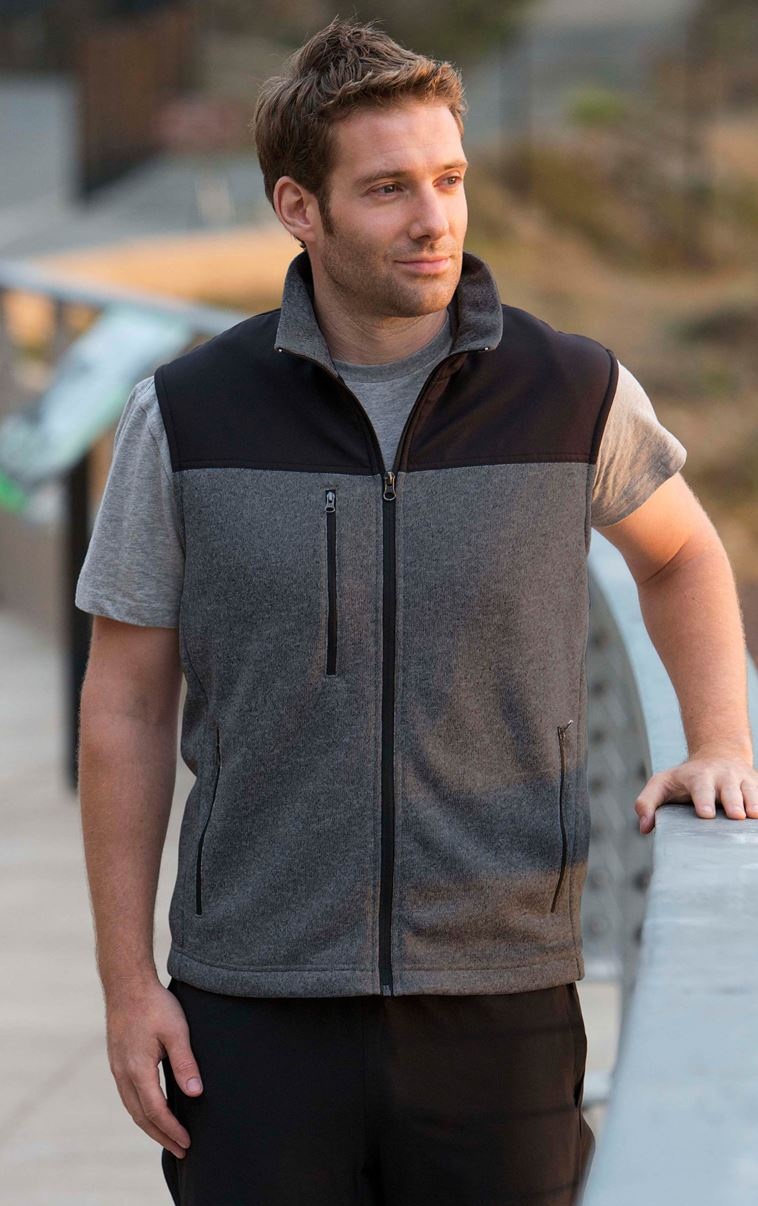 Landway 9885 - Capitan Sweater Fleece Vest