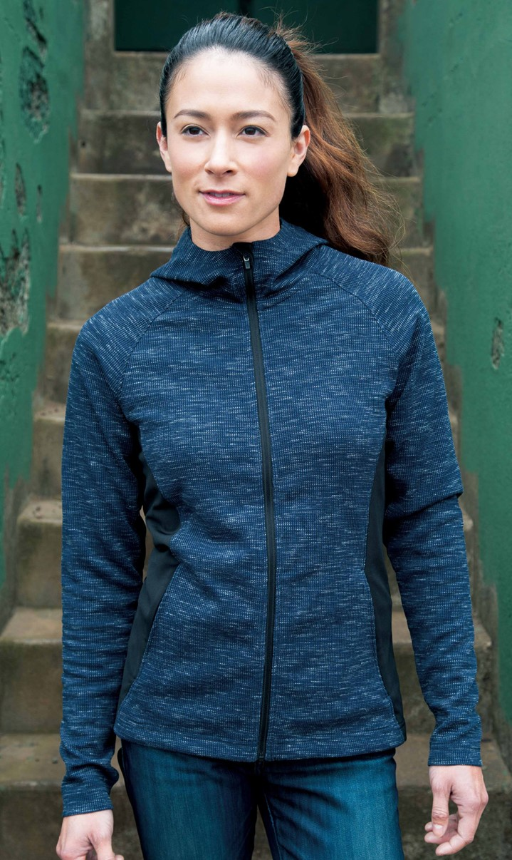 Landway HD-72 - Kendra Ladies Thermal Knit Jacket
