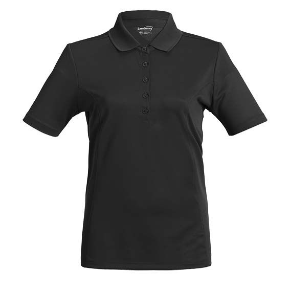 Landway 1139 - Ladies Button Club Moisture Wicking Shirt