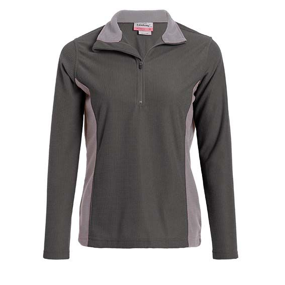 Landway 8432 - Ladies Klamath Waffle-Knit Fleece Pullover