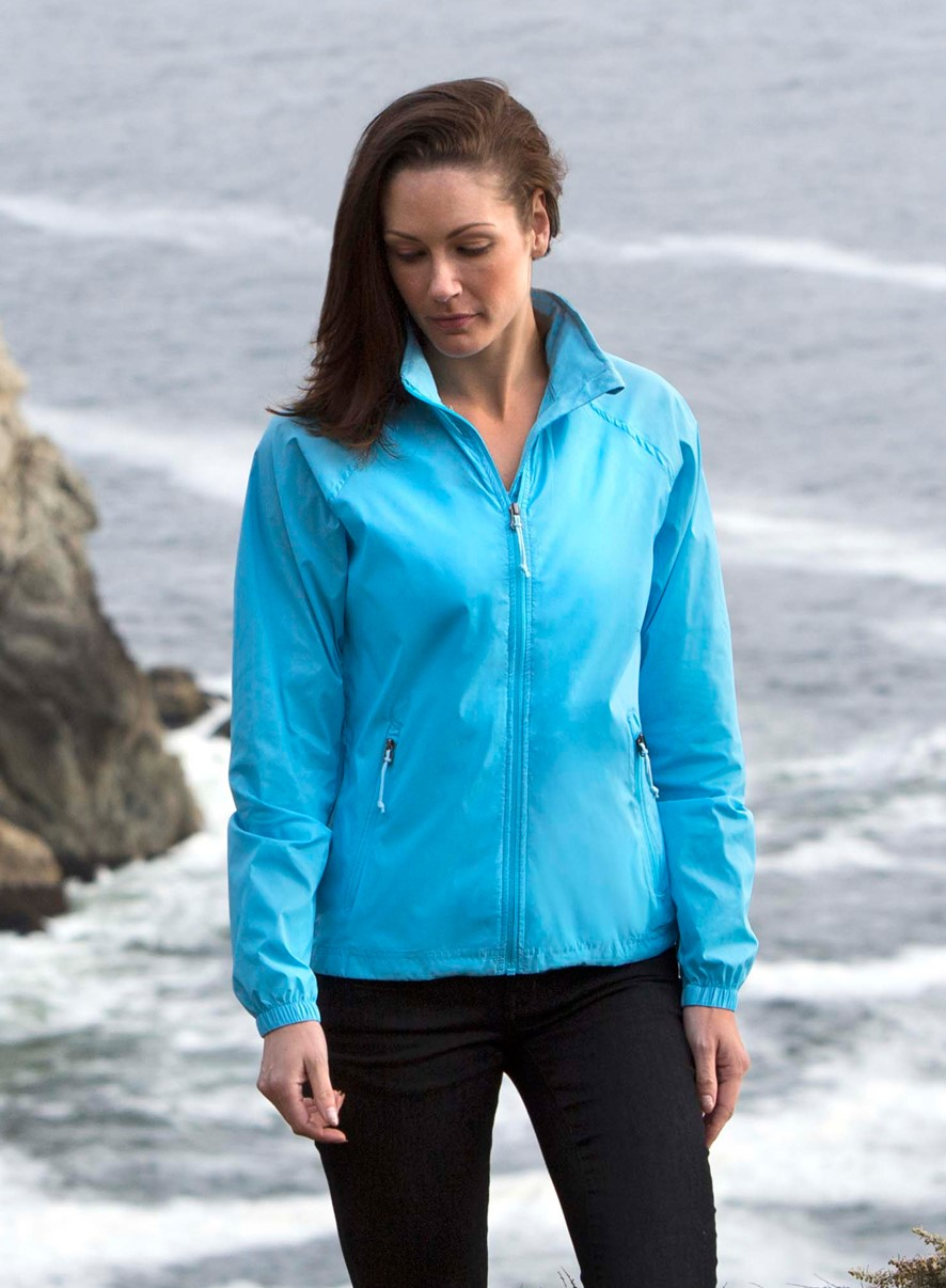 Landway 7200 - Ladies Radius Rip-Stop Nylon Windbreaker